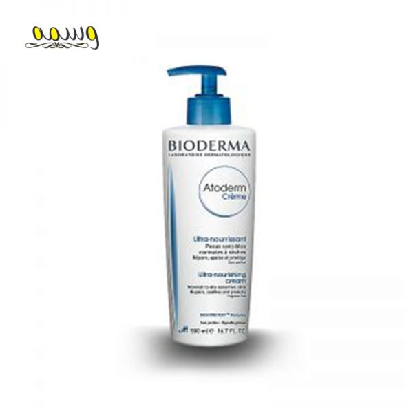 کرم ترمیم کننده و تغذیه کننده بایودرما مناسب پوست خشک تا خیلی خشک مدل Atoderm Cream حجم 500 میل
