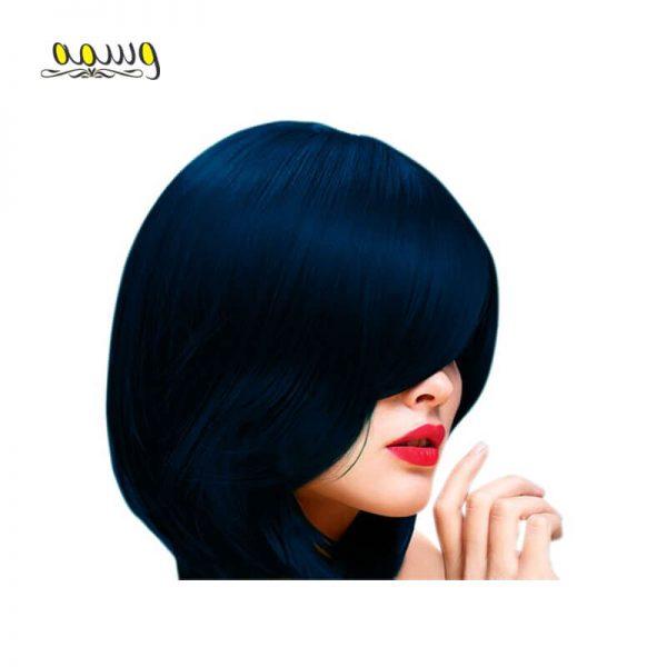 رنگ مو بدون آمونیاک فیوژن کالر مارال رنگ 5.100 (سورمه ای کاربنی)