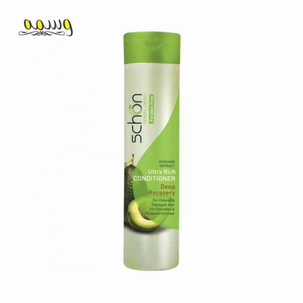 نرم کننده مو قوی و آبرسان آووکادو مناسب برای موهای خشک و آسیب دیده شون 400 میل