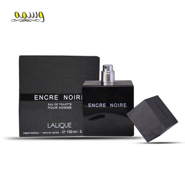 ادو تویلت مردانه لالیک مدل Encre Noire حجم 100 میل