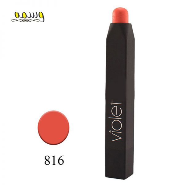 رژلب مدادی ویولت مدل VELVET MATTE شماره ۸۱۶